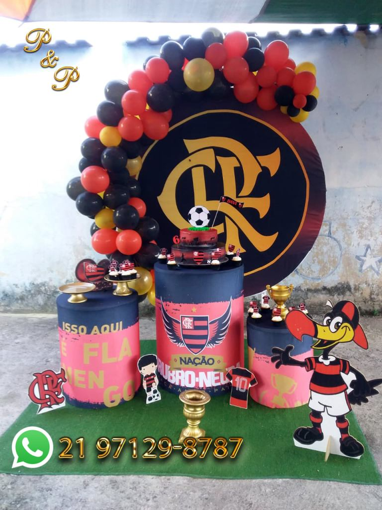 Decoração do Flamengo