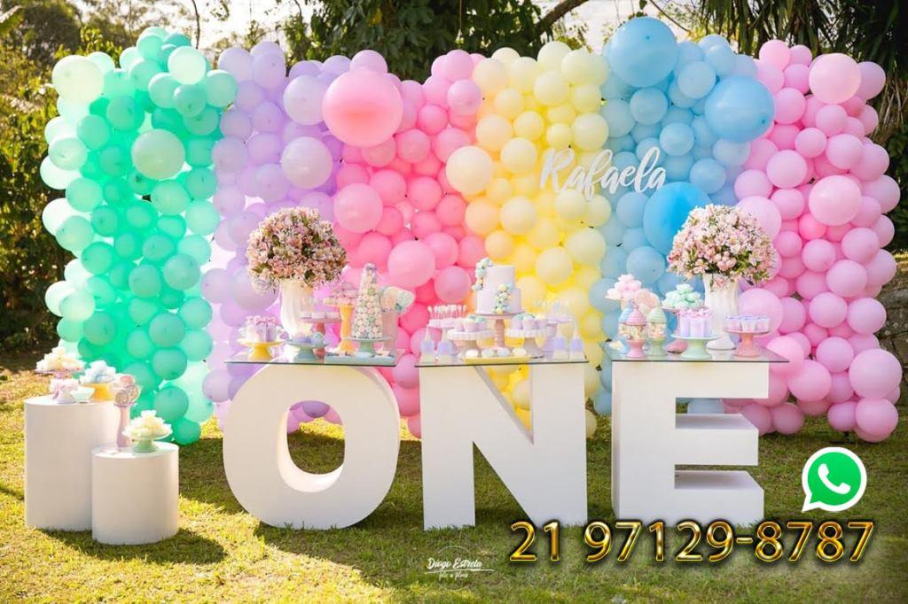 decoração festa 1 ano