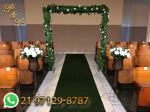 Arco de Flores para Casamento na Igreja
