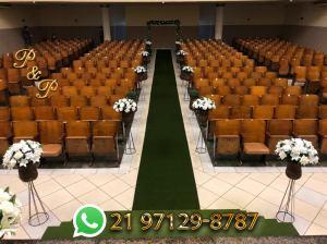 Decoração de Casamento Rustico na Igreja