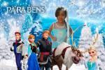 Painel para Festa Frozen