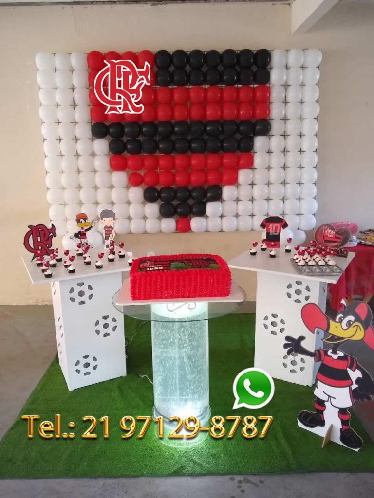Decoração Festa do Flamengo