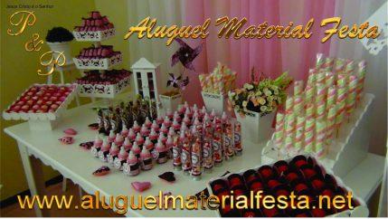 Aluguel Material Festa