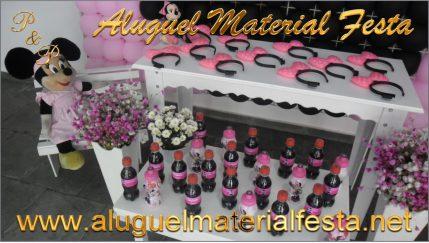 Materiais Alugados para Clientes