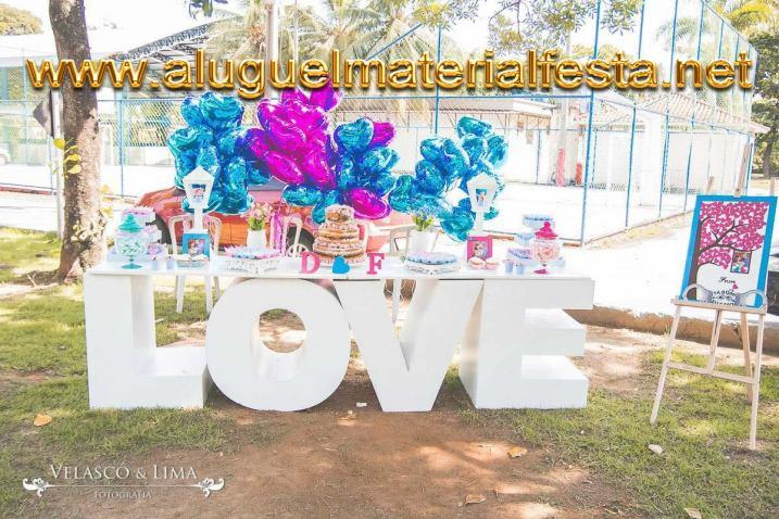 ALUGUEL MESA LOVE PROVENÇAL