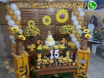 Decoração Festa Girassol