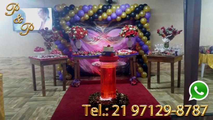 Decoração Festa Fantasia