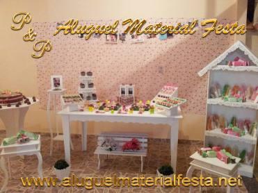 Aluguel Material Festa Provençal