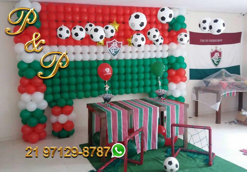Decoração de Bola Fluminense