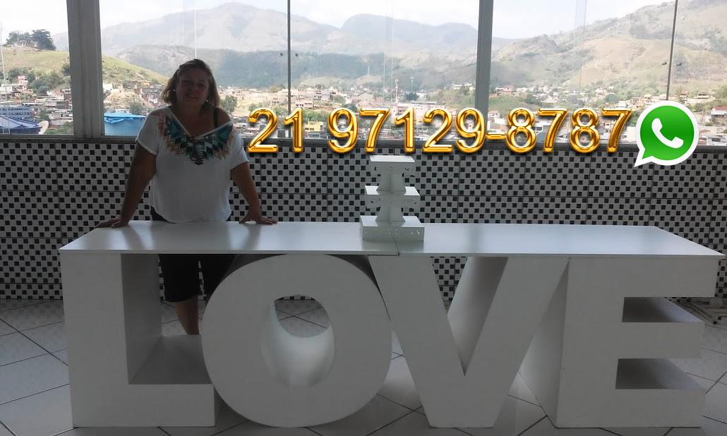 Aluguel Mesa Love Grande