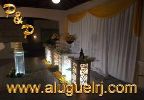 Aluguel Móveis Casamento Rio de Janeiro