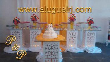 Aluguel Mesa Provençal Casamento