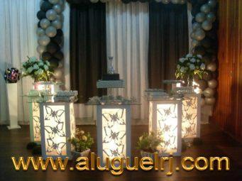 P&P - ALUGUEL MATERIAL FESTA - CONTATO: 3351-5599, 97129-8787
