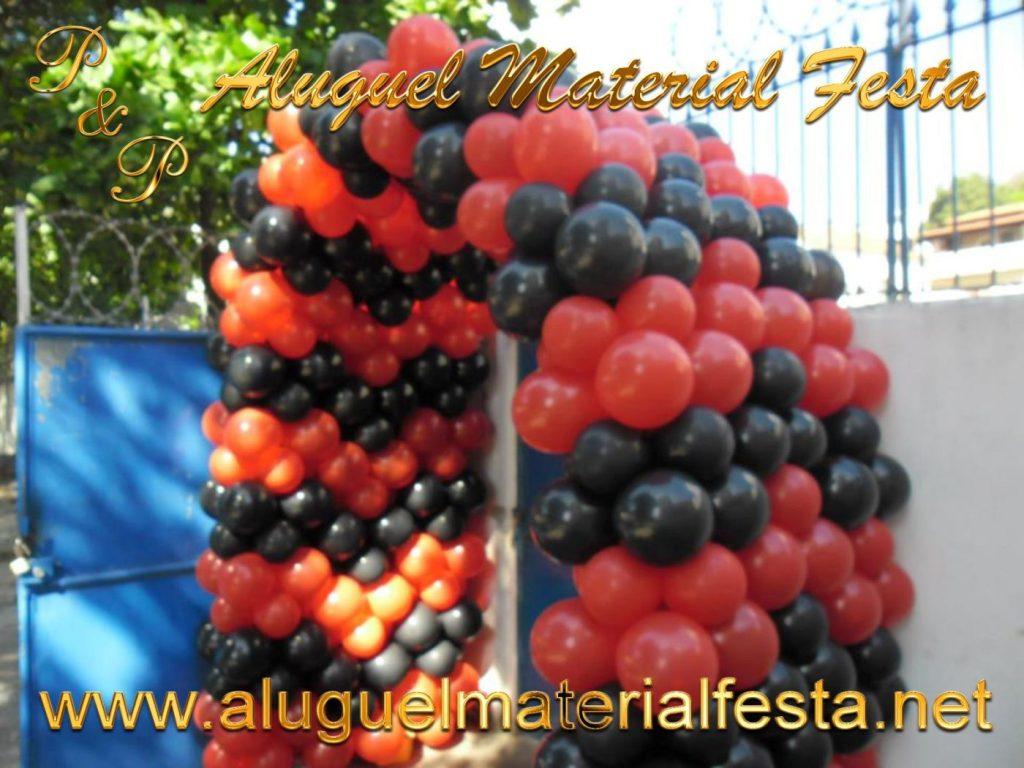 Decoração Bola Arco Flamengo