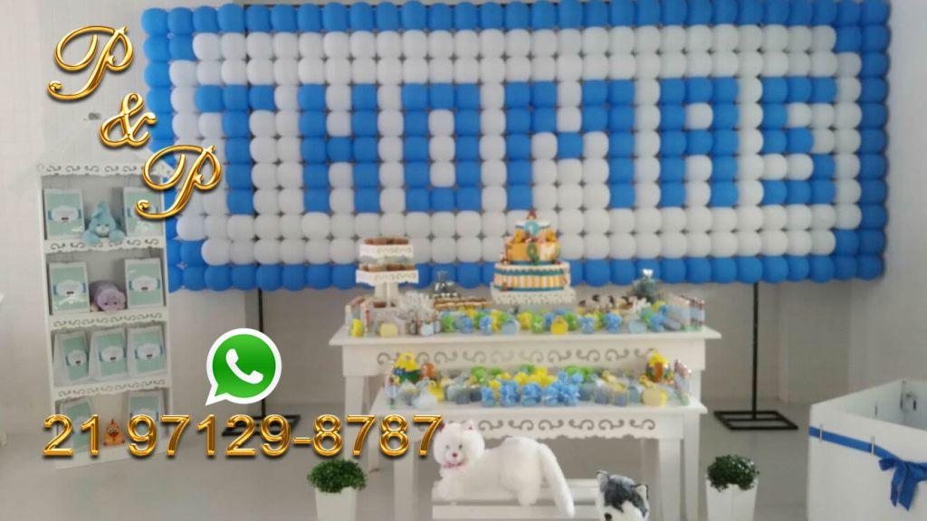 Decoração com Bolas Rio de Janeiro