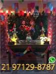 Aluguel Mesa Rustico - Festa Junina