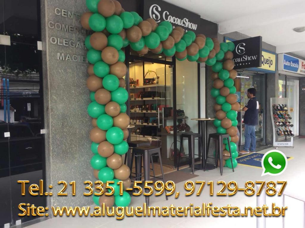 Decoração de Bola na CacauShow - Barra da Tijuca