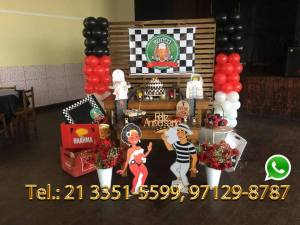 Aluguel Decoração Festa Boteco RJ