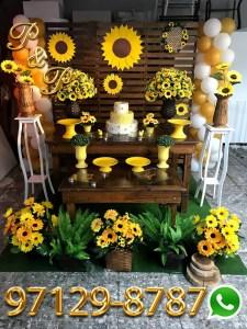 Decoração de Festa Girassol