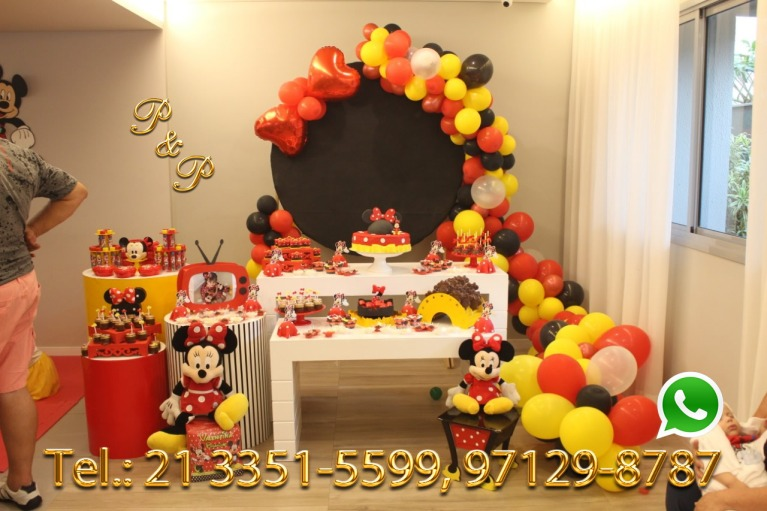 Decoração Festa Minnie