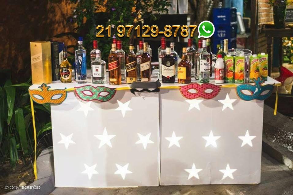 Aluguel Open Bar Rio de Janeiro