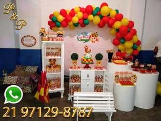 Decoração Festa da Boneca Tagarela