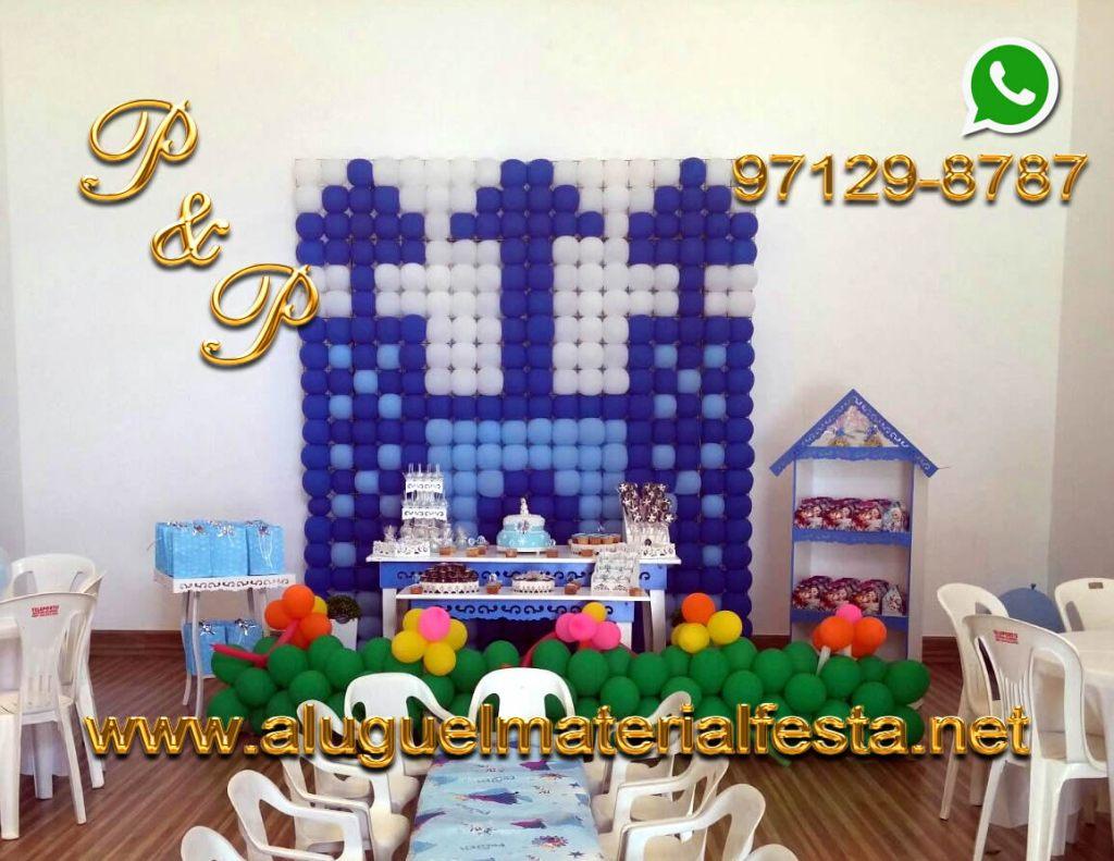 Aluguel Mesa Provençal Azul