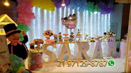 Aluguel Decoração Festa Iinfantil