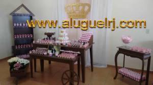 ALUGUEL PROVENÇAL RUSTICO Chá de Bebê