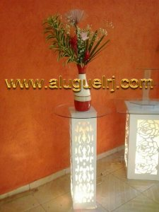 Aluguel Coluna Provençal Arabesco