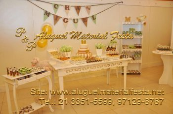 Aluguel Provençal Chá de Bebê - Decoradora: Cintia Rosendo