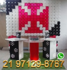 Decoração Painel de Bola - Vasco