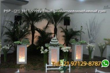 Aluguel de Mesa Iluminada Casamento