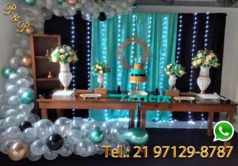 Aluguel Decoração Festa 15 anos