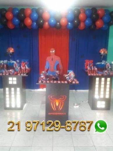 Aluguel Festa Homem Aranha