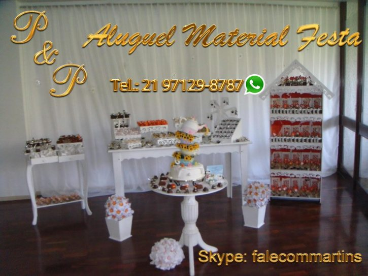 Aluguel Material Festa Flamengo