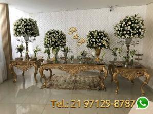 Aluguel Mesa Casamento