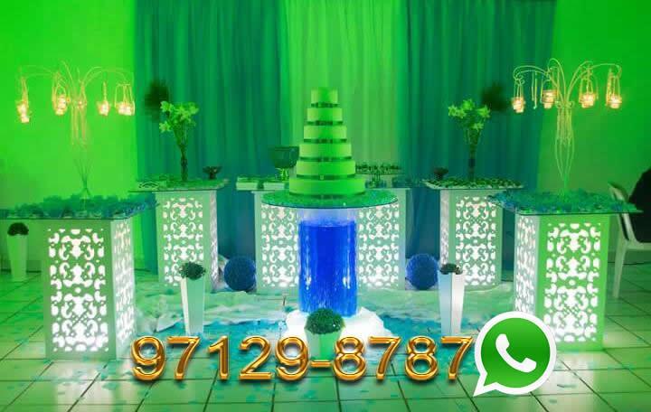 Aluguel Mesa Iluminada Casamento