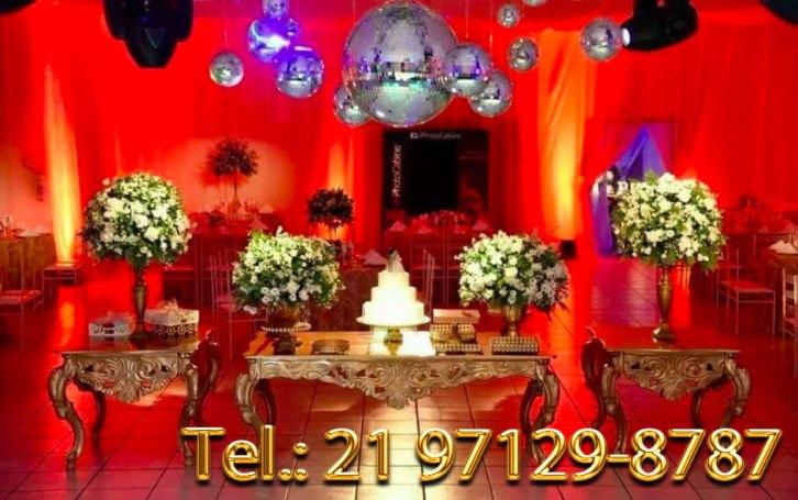 Aluguel Mesa para Casamento - Rio de Janeiro