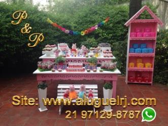 Aluguel Mesa Rosa Provençal