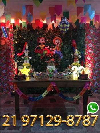Aluguel Mesa Rustico Festa Junina