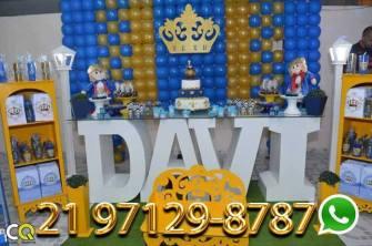 Decoração de Festa Rei Davi