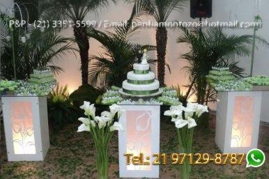 Decoração Festa Casamento Simples