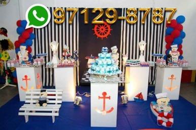 Decoração Festa Marinheiro