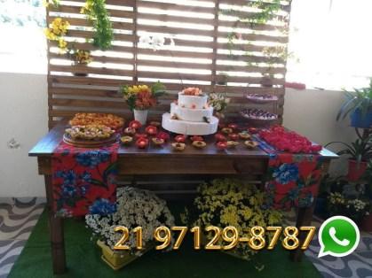 Decoração Festa Noivado