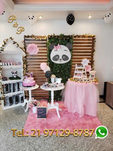 Decoração Festa Panda