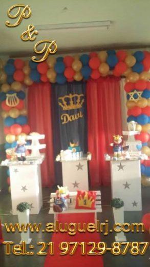 Decoração Rei Davi Simples