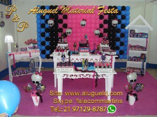 Decoração Festa Provençal Monster High