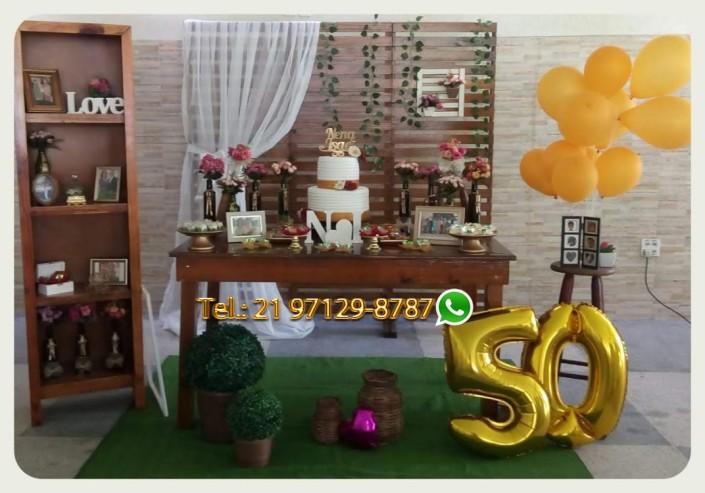 Aluguel de Móveis Aniversário 50 Anos