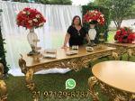 Aluguel Mesa Dourada Casamento RJ